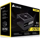 Corsair CX750 750 Watts 80 Plus Bronze Certified Power Supply Unit