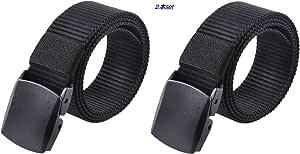 (レギアス) REGEASS ナイロンベルト 調整可能 軽量バックル メンズ 5色 フリーサイズ ロゴ入り布ぽーち付き