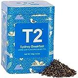 T2 Tea Sydney Breakfast Black Tea, Loose Leaf Black Tea in Limited Edition Tin, 100 g (T125AI125)