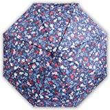 5 fold sunny umbrella, mini pocket umbrella,flowers,color glue sunscreen 8 bone wind, sun, wind and rain proof (Sea of flower