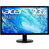 【Amazon.co.jp限定】Acer モニター ディスプレイ AlphaLine 23.6インチ K242HQLbi フルHD VA HDMI D-Sub ブルーライト軽減 VESA対応