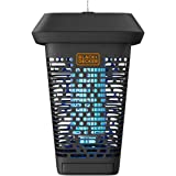 BLACK+DECKER Bug Zapper | Electric UV Insect Catcher & Killer for Flies, Mosquitoes, Gnats & Other Small to Large Flying Pest