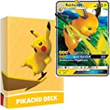 Pokemon Pikachu Deck | Ready to Play 60 Card Starter Deck | Includes Raichu GX | Perfect for Beginners Raichu Theme Deck | wi