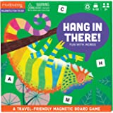 Mudpuppy Hang in There! Magnetic Board Game – Colorful Word Game for Kids Ages 5-10, 2+ Players – Compact & Magnetic Design,