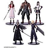 SquarEnix Final Fantasy VII Remake: Cloud, Sephiroth, Barret, Tifa, Aerith Mini Trading Arts Figurines