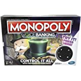 Hasbro Monopoly E4816 Voice Banking Electronic Family Board Game Brown
