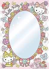 65ピース 鏡ジグソーパズル ハローキティ フラワー(18.2x25.7cm)