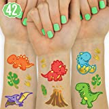 xo, Fetti Dinosaur Tattoos for Kids - 42 styles | Birthday Party Supplies, Dinosaur Party Favors, T-rex Decorations