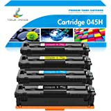 TRUE IMAGE Compatible Toner Cartridge Replacement for Canon 045 045H MF634Cdw Toner Canon Color ImageCLASS MF634Cdw MF632Cdw