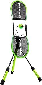 世界ランカーも認めた【1日2分でトップスピンを学ぶ】TopspinPro(トップスピンプロ) 世界83ヶ国で愛用 テニス練習器具 テニス練習 テニストレーニング テニスフォーム【国内正規品/日本語説明】 (グリーン×ブラック)