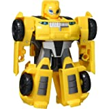 """TRANSFORMERS - Playskool Heroes - 4.5"""" Bumblebee - Inspired by Rescue Bots Academy TV Show - Classic Heroes Team - Action Fig"""