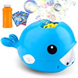 balnore Bubble Machine,Automatic Bubble Maker 2000+ Bubble Blower for Kids,Easy to Use for Parties Wedding Baby Showers Indoo