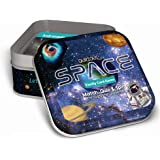 Qurious Space | STEM Flash Card Game | Explore, Match, Quiz & Spin Through The Universe. Perfect for Astronomy Fans and Futur