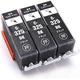 キヤノン Canon インクカートリッジ325 canonインク325 互換インク BCI-325XL ブラック プリンターインク マルチパック 増量版/純正 レベル/大容量/1年保証/ICチップ残量表示機能PIXUS MG8230 MG8130 M