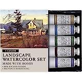 M. Graham Tube Watercolor Paint Landscape 5-Color Set, 1/2-Ounce