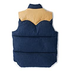 Down Vest Denim 450-502-05: Indigo