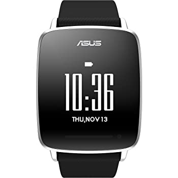 ASUS スマートウォッチ VIVO Watch Black ( タッチスクリーン / TFT液晶 / Bluetooth4.0 / IP67 )  ASUS VIVOWATCH