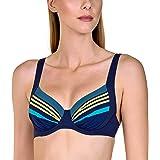 Lisca 40479 Women's Dominica Striped Underwired Bikini Top