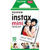 Instax Film Mini 10PK Suitable for Instax Mini Cameras Including 7S,25, 50S, 8, 70 & 90, Also Share Printer SP-2