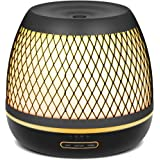 InnoGear 500ml Aromatherapy Essential Oil Diffuser with Iron Cover Ultrasonic Diffuser Classic Stlye Cool Mist for Home Bedro
