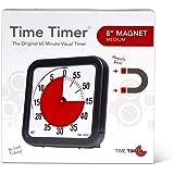 【正規品】TIME TIMER タイムタイマー マグネット 19cm 60分 TTA1-MAG-W 時間管理