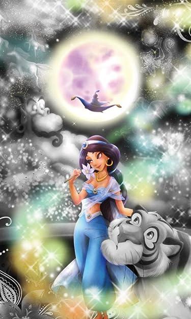 ディズニー  iPhone/Androidスマホ壁紙(480×800)-1 - アラジン 恋の魔法にのって
