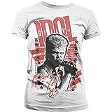 Billy Idol - Rebel Yell '83 Official Women T-Shirt