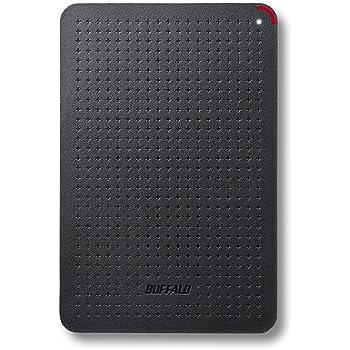 BUFFALO 耐振動・耐衝撃 日本製 USB3.1(Gen1) 対応 小型ポータブルSSD 960GB ブラック SSD-PL960U3-BK/N 【PlayStation4 メーカー動作確認済】