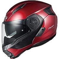 オージーケーカブト(OGK KABUTO)バイクヘルメット システム RYUKI シャイニーレッド (サイズ:S)