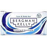 BERGMAN KELLY Travel Soap Bars, Hotel Size Bulk Toiletries (0.5 Oz, 100 Pack); Mini Individual Wrap Soap in Travel Sizes for