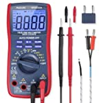 AstroAI Digital Multimeter, TRMS 6000 Counts Volt Meter Manual and Auto Ranging; Measures Voltage Tester, Current...