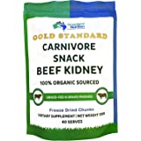 Grassland Nutrition Organic Kidney Freeze Dried Chunks (High in Selenium, B12, DAO) — Supports Kidney, Urinary, Thyroid, Hist
