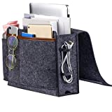 Bedside Caddy, Thick Sofa Storage Organizer, Table Cabinet Hanging Storage Organizer, Holder Bag for Laptop Book Phone Charge