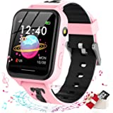 Jsbaby Smart Watch for Kids,Kids smartwatch with Music Player,Math Games,SOS Call,Camera,Alarm,Recorder,Calculator,Mp3,for Bi