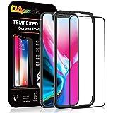 OAproda iPhone 11 Pro/iPhone XS/X ガラスフィルム 液晶保護強化ガラス【ガイド枠付き/全面保護/ケースに干渉しない】アイフォン11pro / Xs/X 5.8インチ 用 フィルム