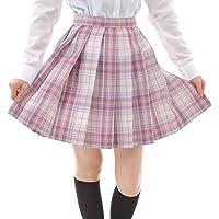 Eiza プリーツスカート チェック柄 ミニ スクールスカート 制服 学生服 女子校生 e738