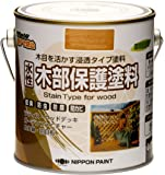 水性木部保護塗料 0.7L ウォルナット