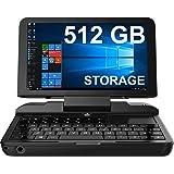 [512GB M.2 SSD Version] GPD MicroPC Micro PC 6-inch Handheld Industry Laptop Mini PC Computer Windows 10 Pro or Ubuntu MATE,S