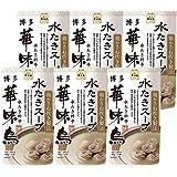 トリゼンフーズ 博多華味鳥 水炊きスープ 400g ×6 / 御影新生堂