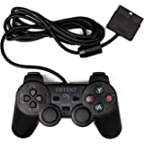 OSTENT Wired Analog Controller Gamepad Joystick Joypad for Sony Playstation PS2 PS1 PS One PSX Console Dual Shock Vibration V