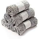 新品 ふきん 竹炭繊維 ハンドタオル マイクロファイバークロス キッチンクロス 食器用 掃除布巾 吸水 速乾 乾湿両用…