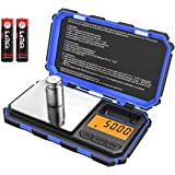 (Upgradaed) Brifit Digital Mini Scale, 200g /0.01g Pocket Scale, 50g Calibration Weight, Electronic Smart Scale, 6 Units, LCD