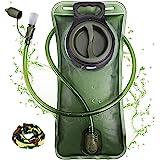 Hydration Bladder 2 Liter Leak Proof Water Reservoir, Military Water Storage Bladder Bag, BPA Free Hydration Pack, for Hiking