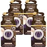 Yankee Candle Smart Scent Vent Clip Odor Neutralizing Car Air Freshener, Midsummer's Night (Pack of 4)