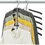 DOIOWN Blouse Tree Hangers Clothes Hangers Non Slip Space Saving Stainless Steel Shirt Hangers Coats Hangers Closet Organizer