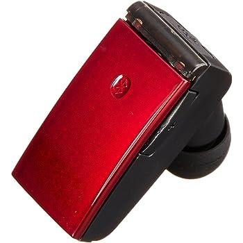 iBUFFALO iPhone7,iPhone7Plus動作確認済 Bluetooth3.0+EDR対応 超小型ヘッドセット レッド BSHSBE18RD