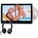 "NAVISKAUTO 10.1"" Car DVD Player with Inhalation Drive Support Sync Screen Last Memory AV in & Out USB SD Region Free"