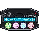 『初音ミク Project DIVA Future Tone DX』専用ミニコントローラーfor PS4 ipega 初音ミク専用ミニアケコン PS4コントローラー pegagame-P4016