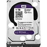 WD Purple 1TB Surveillance Hard Disk Drive - 5400 RPM Class SATA 6 Gb/s 64MB Cache 3.5 Inch - WD10PURX [Old Version]