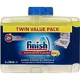 Finish Dishwasher Cleaner, Lemon Sparkle, Twin Pack 2x250ml, 2 Pack